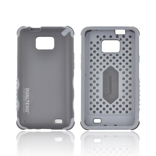 Original PureGear AT&T Samsung Galaxy S2 Attain DualTek Extreme Shock Hybrid Hard Case w/ Screen Protector, 02-001-01163 - Black/ Gray