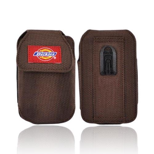 Original Dickies Universal Vertical Pouch w/ Velcro Closure, 09708V2 - Brown (PUTXL)