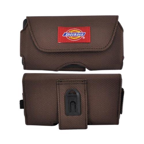Original Dickies Universal Droid X / Evo 4G Horizontal Pouch w/ Velcro Closure 09710V2 - Brown (PUTXL SIZE)