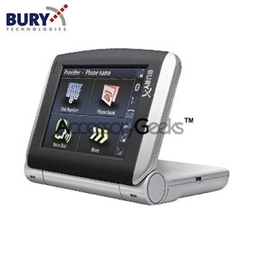 Original Bury Comfort Vision 9040 Handsfree Bluetooth Car Kit w, DialogPlus Voice & TouchScreen, 1-58-0034-2