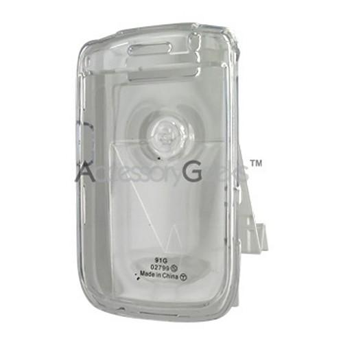 Original Blackberry Curve 8900 Hard Case w/ Belt Clip - Transparent Clear
