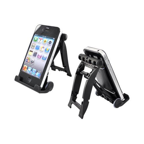 Original 3Feet Universal iPad/iPhone/Kindle Holder Stand, 3FBK - Pitch Black