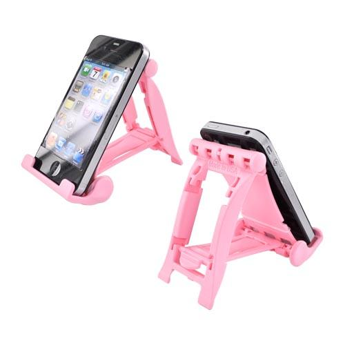 Original 3Feet Universal iPad/iPhone/Kindle Holder Stand, 3FRP - Pretty Pink
