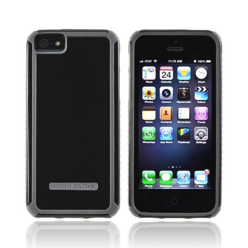 OEM Body Glove Tactic Apple iPhone 5/5S Hybrid Hard Case  CRC92907 - Black/ Gray