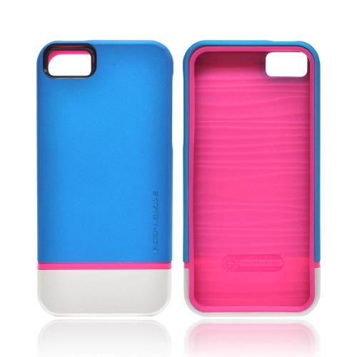 OEM Body Glove Icon Hybrid Apple iPhone 5/5S Dual Layer Case - Teal/ Silver/ Pink