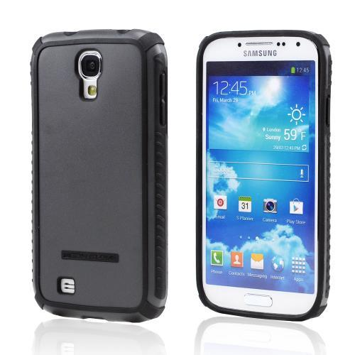 Body Glove Black/ Gray Tactic Brushed Hybrid Hard Case for Samsung Galaxy S4 - 9340303