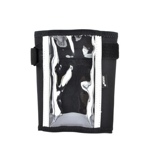 Arkon AT&T, Verizon Apple iPhone 4, iPhone 4S Sweat-Resistant Forearm Armband Pouch - Black Solid