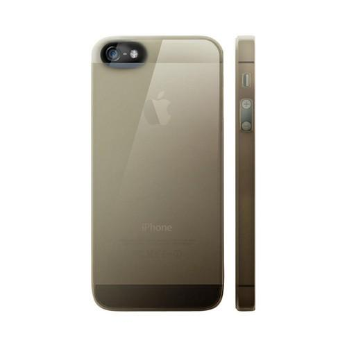 OEM Luardi Apple iPhone 5 Crystal Hard Case - Transparent Smoke