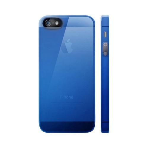 OEM Luardi Apple iPhone 5 Crystal Hard Case - Transparent Blue