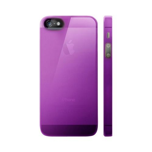 OEM Luardi Apple iPhone 5 Crystal Hard Case - Transparent Purple