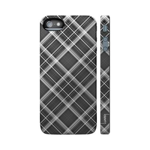 OEM Luardi Apple iPhone 5/5S Hard Case - Scottish Black Tartan