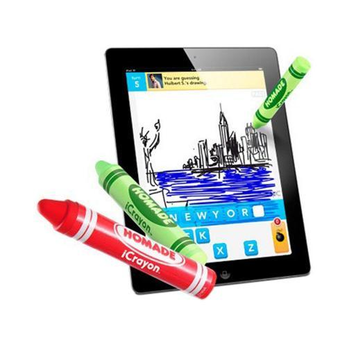Original Homade Universal iCrayon Stylus Pen for Touch Screen - Green Crayon