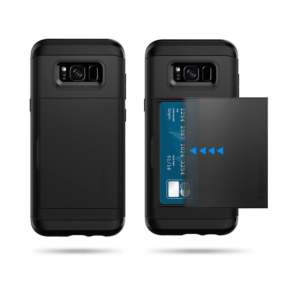 Samsung Galaxy S8 Plus Case Spigen Slim Armor Cs W Q10 Hard Casing Its Dual Layered Shields Your Brand New All Around Corners With Air Cushion Technology And The Rest Invincible
