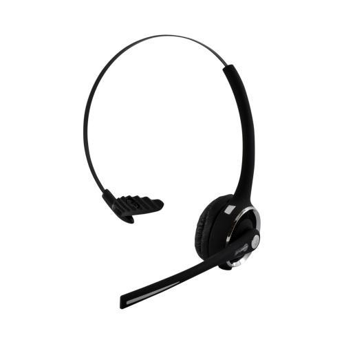 Noisehush Operator-Style Noise Cancelling Bluetooth Headset w/ Charging Dock