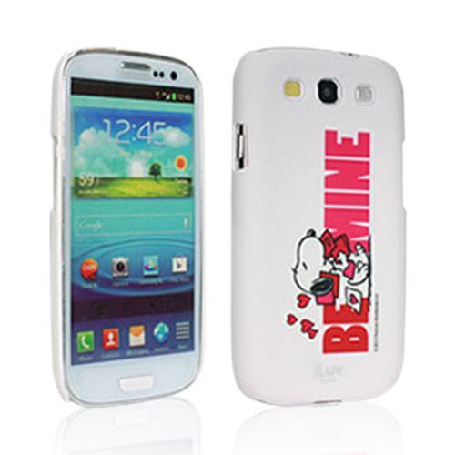 iLuv White Snoopy Behavior Series Hardshell Case for Samsung Galaxy S3 i9300 - ISS256BMWHT