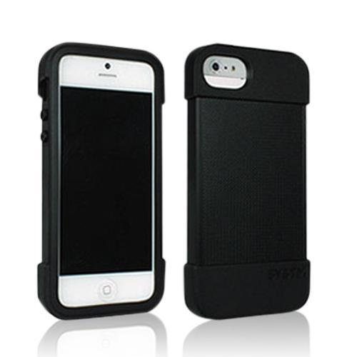 Incase SYSTM Black Hammer Series Crystal Silicone Case for Apple iPhone 5/5S