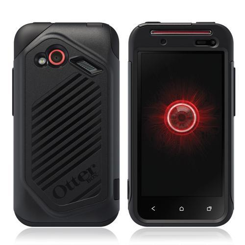 Otterbox HTC Droid Incredible 4G LTE Hybrid Commuter Series Case w/ Screen Protector - Black