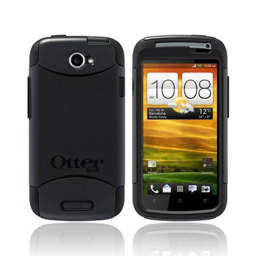 Otterbox HTC One S Hybrid Commuter Series w/ Screen Protector - Black
