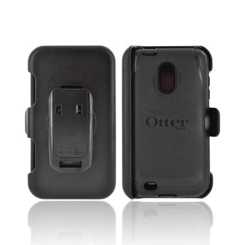 OEM Otterbox Defender Series Samsung Epic 4G Touch Hard Case & Holster w/ Belt Clip - Black
