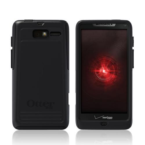 Otterbox Black Commuter Series Hard Case Over Silicone w/ Screen Protector for Motorola Droid RAZR M