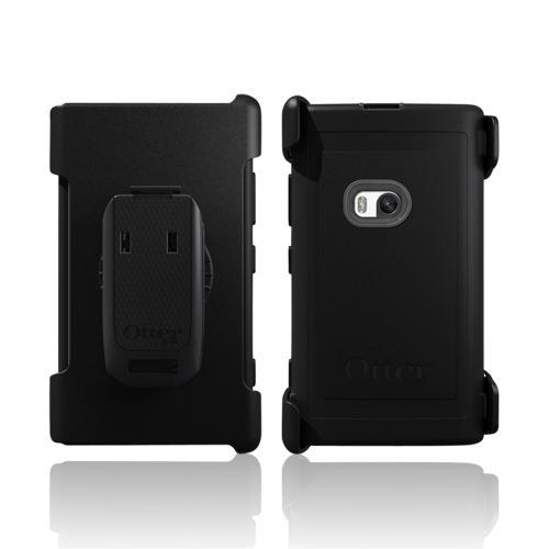 Otterbox Black/ Gray Defender Series Silicone Over Hard Case w/ Holster & Screen Protector for Nokia Lumia 920