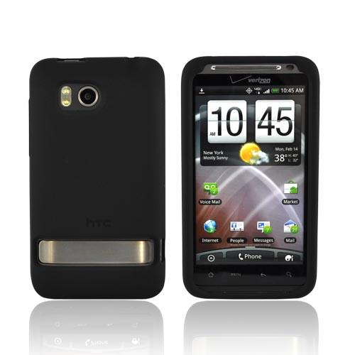 Original HTC Thunderbolt Silicone Case, 70H00372-04M - Black