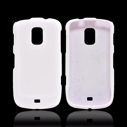 OEM MultiPro Samsung Galaxy S Lightray 4G Rubberized Hard Case - White
