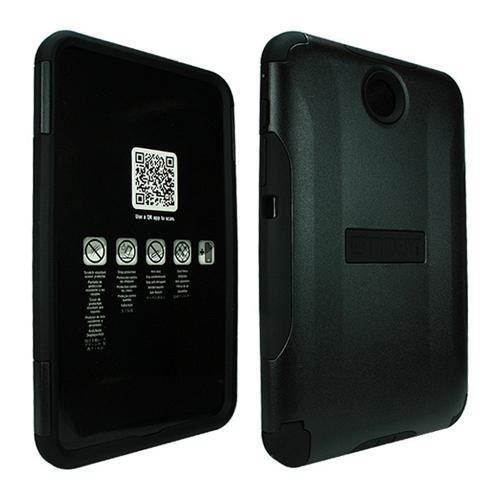 Black Trident Aegis Series Hard Cover on Silicone Case w/ Screen Protector for Samsung Galaxy Note 8.0 - AG-SAM-NOTE8-BK