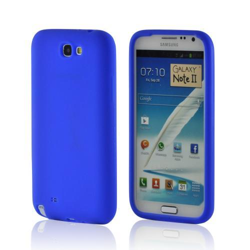 MultiPro Blue Silicone Case for Samsung Galaxy Note 2