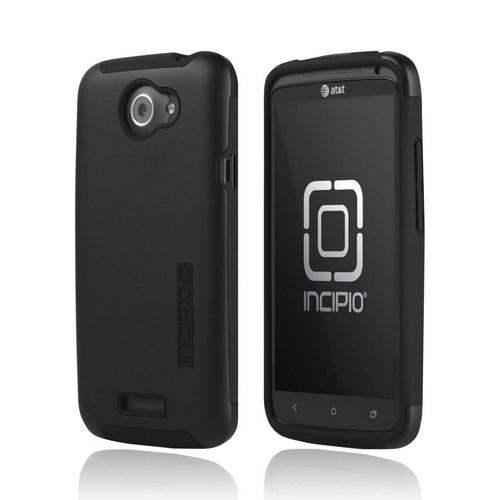 Incipio Silicrylic HTC One X Hard Case on Silicone w/ Screen Protector - Black