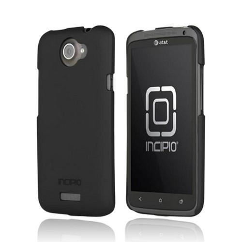 Incipio Feather HTC One X Ultra Thin Rubberized Hard Case, HT-287 - Black