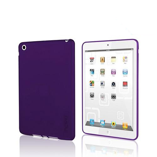 Incipio Purple NGP Series Impact Soft Shell Case w/ Screen Protector for Apple iPad Mini