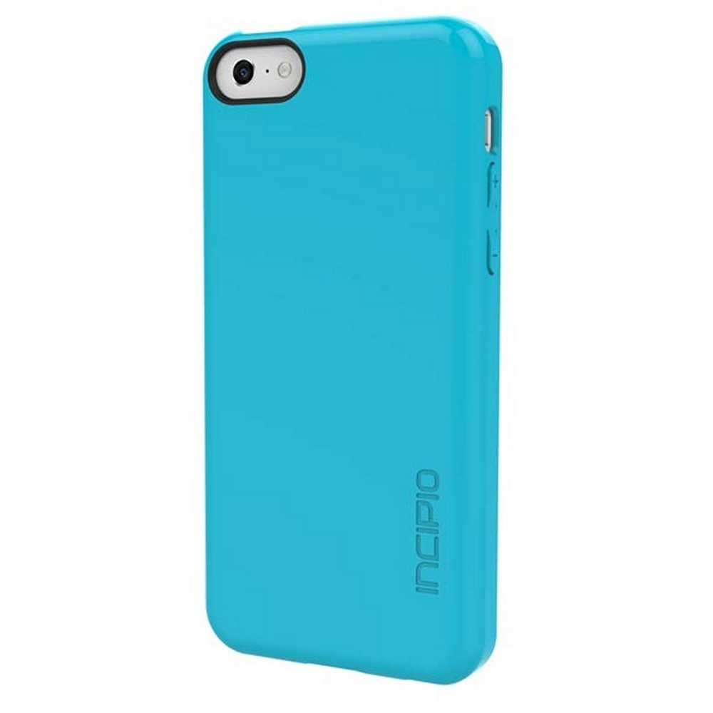 Incipio Aqua Feather Series Rubberized Hard Case for Apple iPhone 5C - IPH-1141-AQU