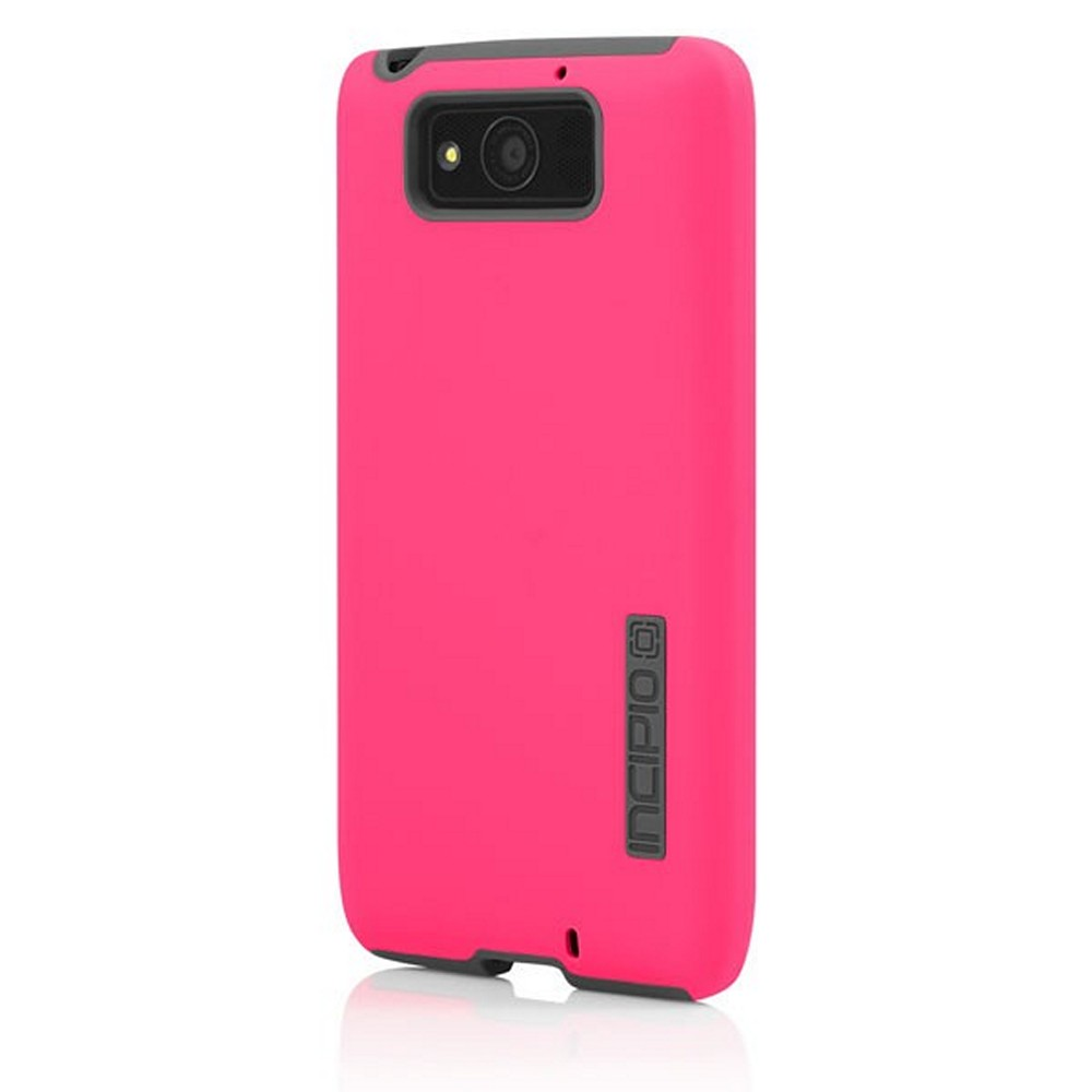 Incipio Hot Pink/ Gray Dual PRO Series Rubberized Hard Case on Silicone Skin for Motorola Droid Ultra - MT-280