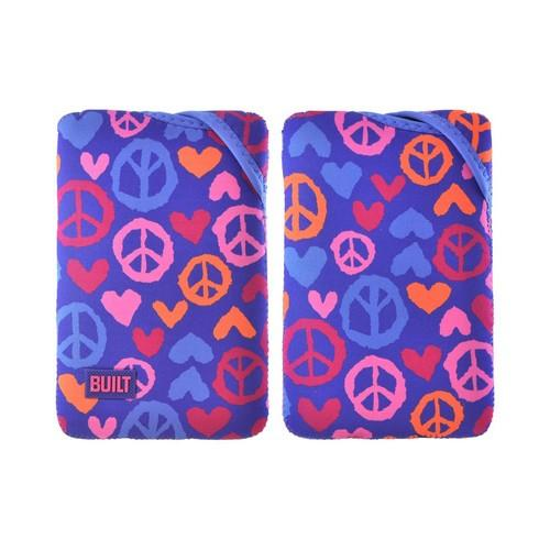 OEM Built Amazon Kindle Fire/ Google Nexus 7/ Nexus 7 Twist Top Neoprene Sleeve Case, E-TWKF1-SLI - Blue/ Purple Summer of Love