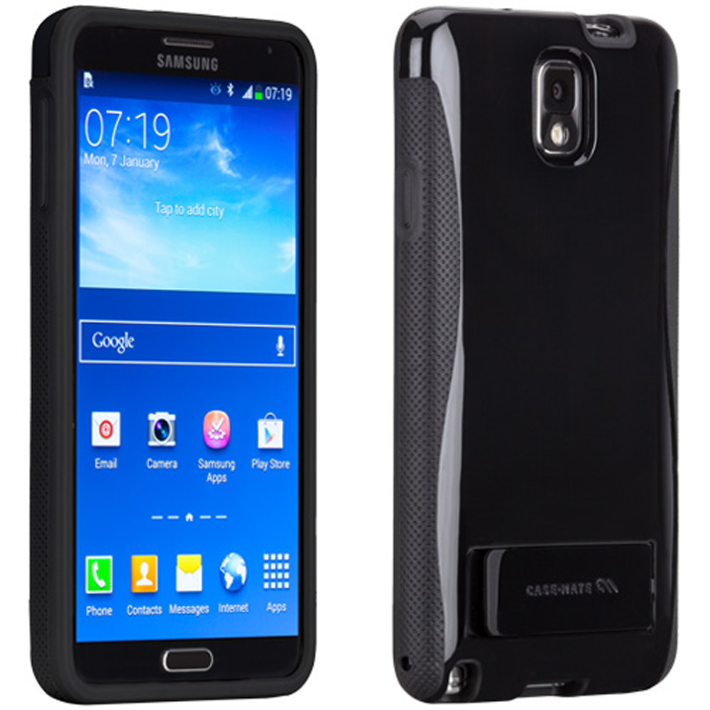 Case-Mate Black Pop! Series Hybrid Hard Case for Samsung Galaxy Note 3 - CM030276