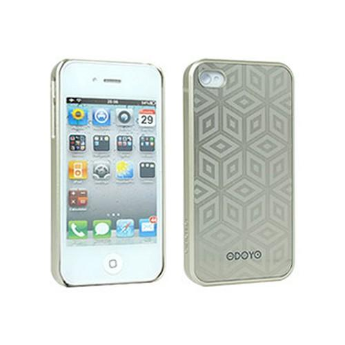 Odoyo Metal Smith Series Plaza Hard Case w/ Screen Protector for Apple iPhone 4/4S
