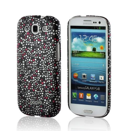 Odoyo Morion Hard Case w/ Screen Protector for Samsung Galaxy S3 - Mosaic Series