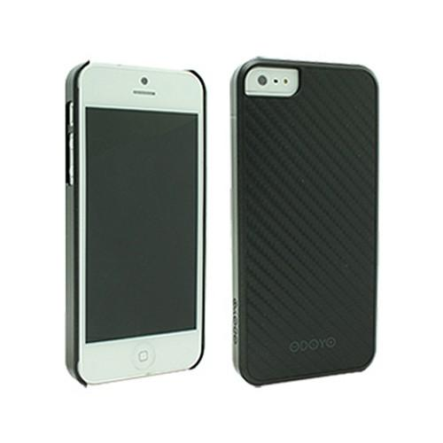 Odoyo Metal Smith Series Midnight Black Hard Case w/ Screen Protector for Apple iPhone 5/5S
