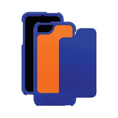 Trident Navy/ Orange Apollo Series Hard Case w/ Interchangeable Plates & Screen Protector for Apple iPhone 5/5S - AP-IPH5-NYORG
