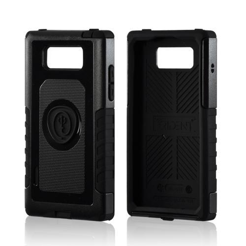 Trident Black Aegis Series Hard Case on Silicone w/ Screen Protector for LG Splendor