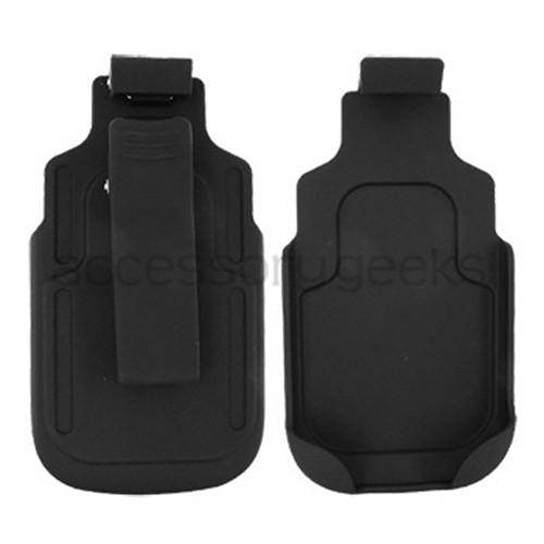 Super Premium T-Mobile HTC Dash 3G Rubberized Holster w/ Swivel Belt Clip - Black