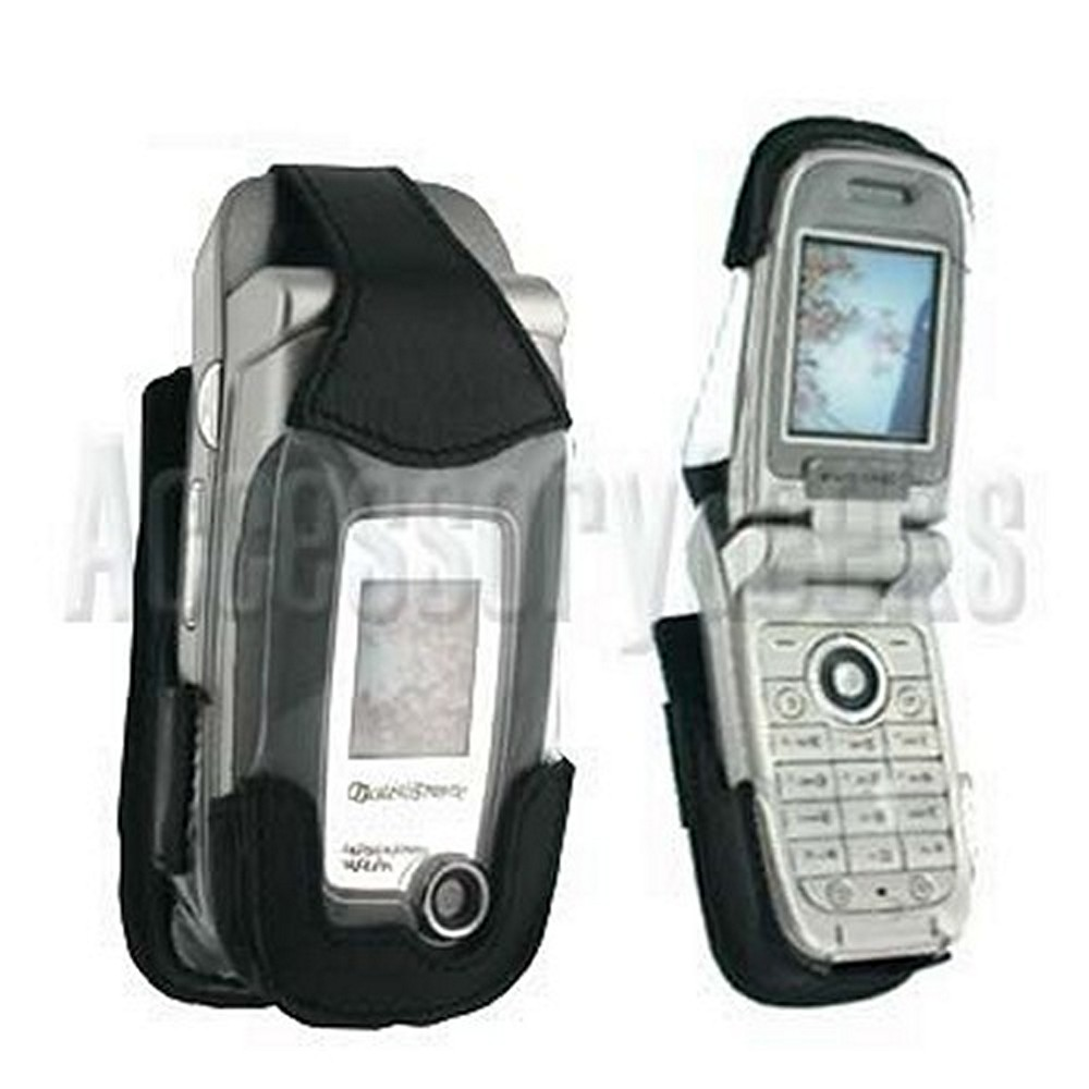 Original Krusell Sony Ericsson Z520i / Z520a / Z520c Elastic Multidapt Leather Case, 87155