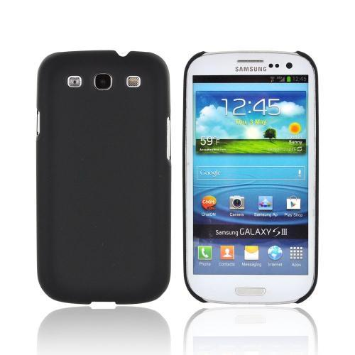 OEM Rearth Samsung Galaxy S3 Ringke Slim Hard Case w/ Screen Protector - Matte Black
