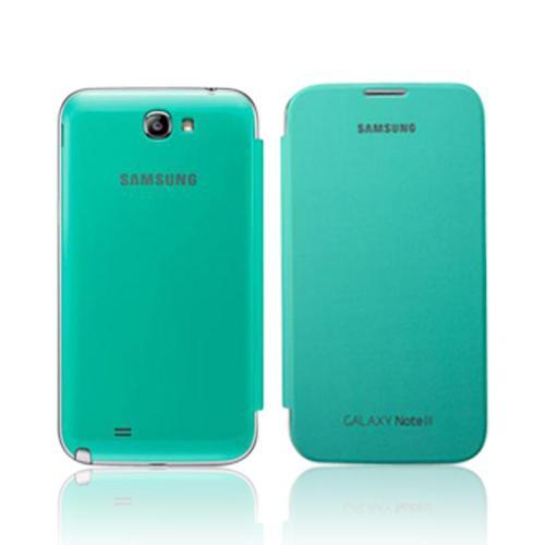 Samsung Mint Protective Flip Cover Hard Case for Galaxy Note 2