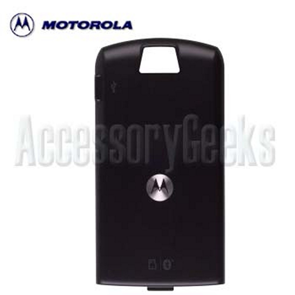 Original Motorola SLVR L7 Black Extra Capacity Battery Door