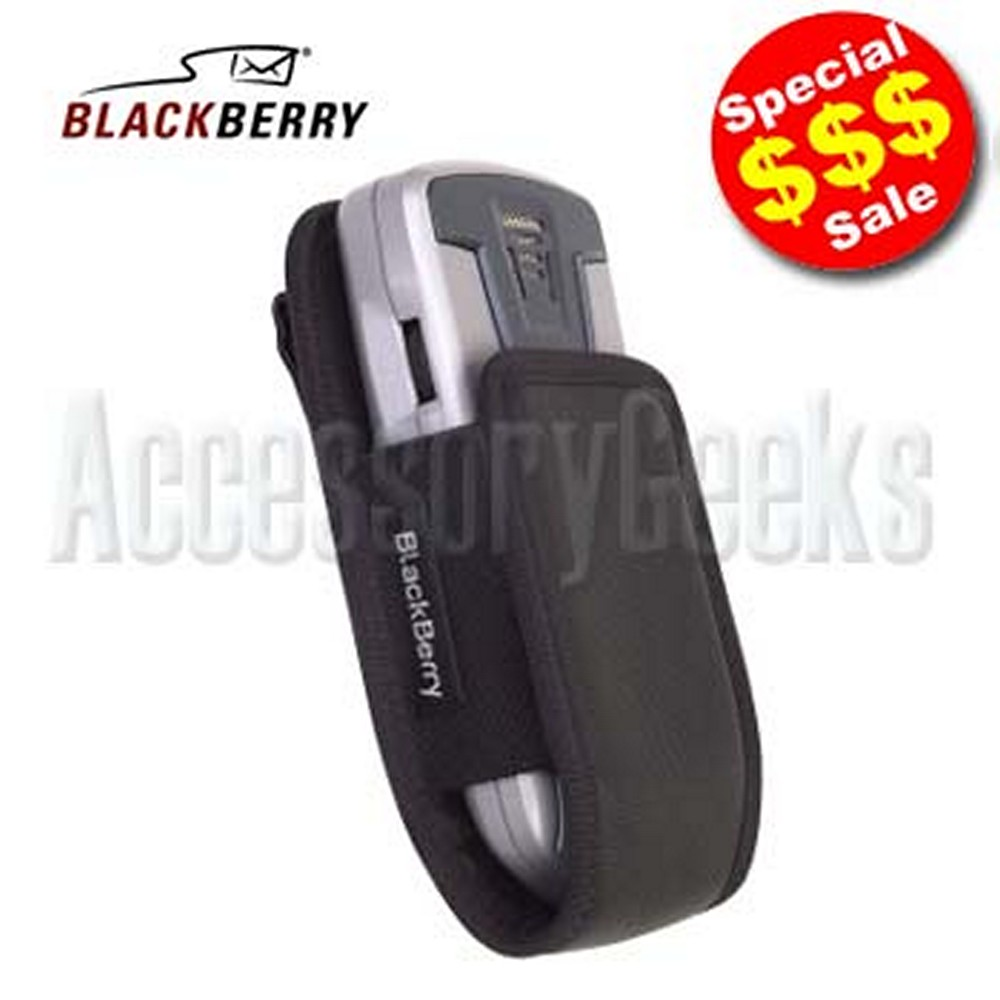 Original Blackberry 7100 Series All Black Pouch