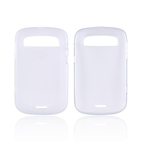 Original Blackberry Bold 9900, 9930 Crystal Silicone Case, ACC-38873-302 - Clear/ Frost White