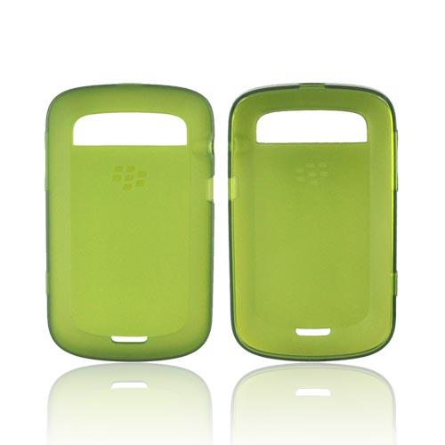 Original Blackberry Bold 9900,9930 Crystal Silicone Case, ACC-38873-303 - Army Green