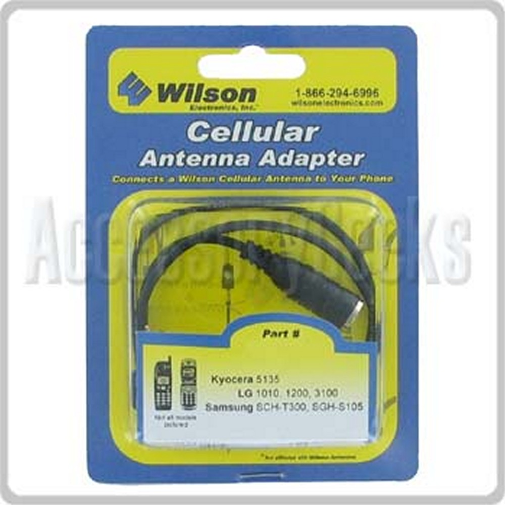 Wilson External Antenna Adapter for Sanyo 6200/6400 - 356502